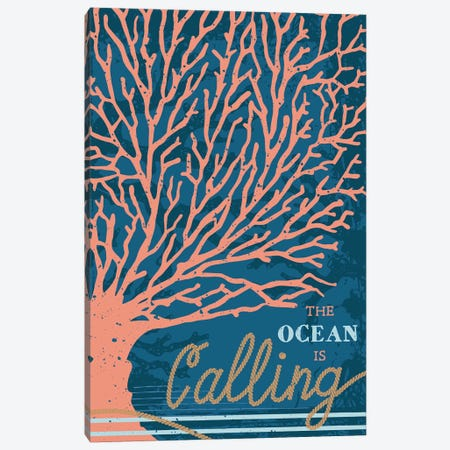 By The Sea Canvas Print #ARR20} by Arrolynn Weiderhold Canvas Print