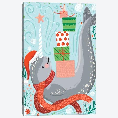 Seas & Greetings II Canvas Print #ARR27} by Arrolynn Weiderhold Canvas Wall Art
