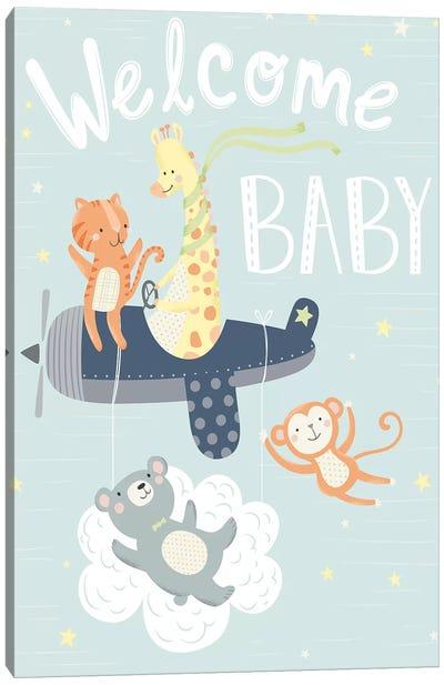 Baby's Adventure II Canvas Art Print
