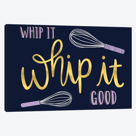 Witty Kitchen I Canvas Print #ARR8} by Arrolynn Weiderhold Canvas Print