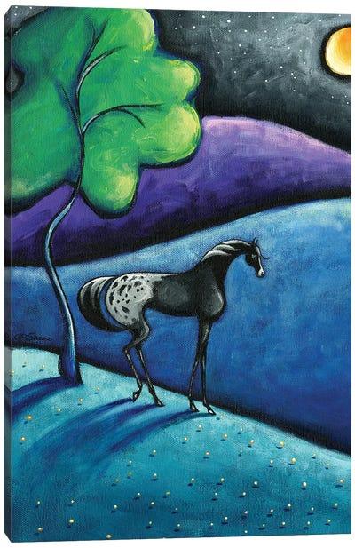Chance Spots Canvas Art Print