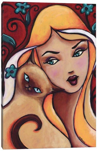 Dandle Canvas Art Print