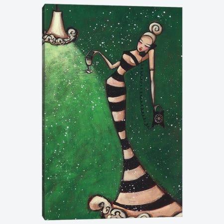 Gossip Girl Canvas Print #ARS32} by ArtByShano Canvas Art Print