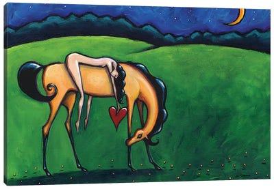 Heart Of Glass Canvas Art Print
