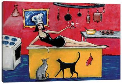 Kitchen Goddess Canvas Art Print