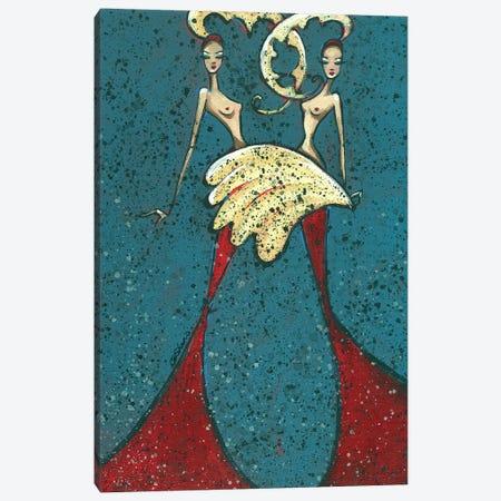 Burlesque Canvas Print #ARS8} by ArtByShano Canvas Artwork