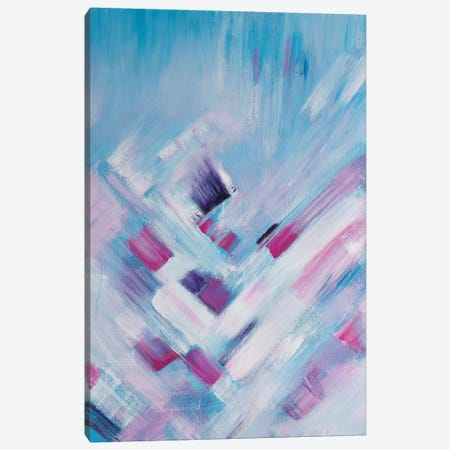 Pretty In Pink Canvas Print #ART25} by Artzaro Canvas Wall Art