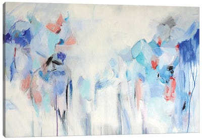 Blue Heaven Canvas Art Print