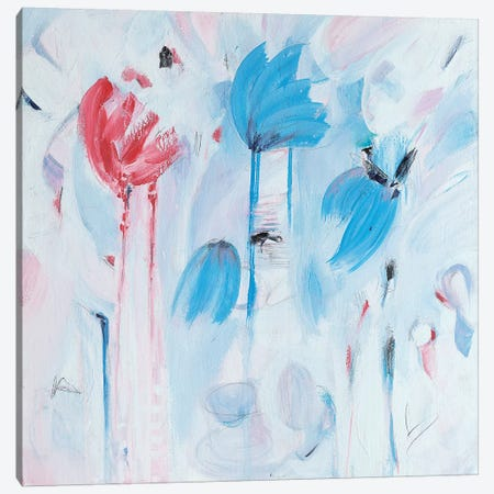 Fleur Canvas Print #ART44} by Artzaro Canvas Artwork