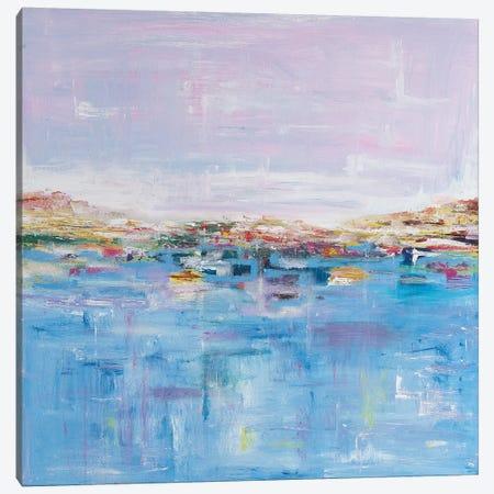 Harbour Canvas Print #ART45} by Artzaro Canvas Art