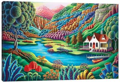 Daybreak Canvas Art Print