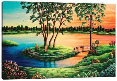 Eden Revisited III Canvas Art Print