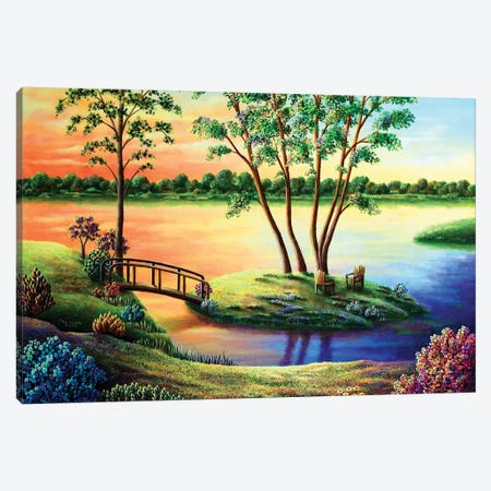 Eden Revisted Canvas Print #ARU16} by Andy Russell Canvas Wall Art