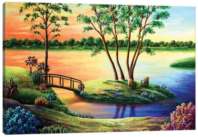 Eden Revisted Canvas Art Print