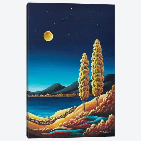 Harvest Moon III Canvas Print #ARU18} by Andy Russell Canvas Art Print