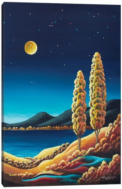 Harvest Moon III Canvas Art Print