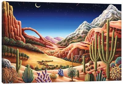 Heavens Window Canvas Art Print