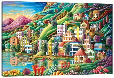 Hidden Harbor Canvas Art Print