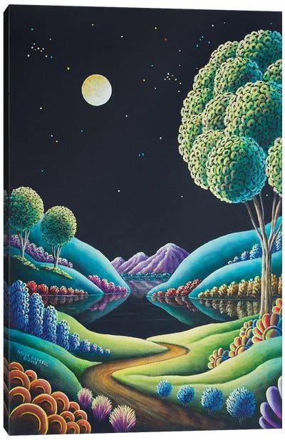 Moonglow IX Canvas Art Print