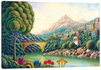 Painters Creek II Canvas Art Print