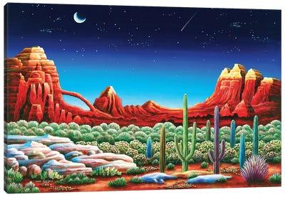 Red Rocks V Canvas Art Print