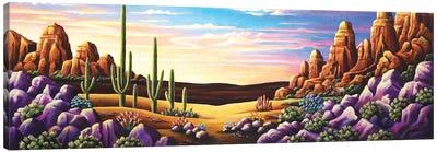 Red Rocks XI Canvas Art Print