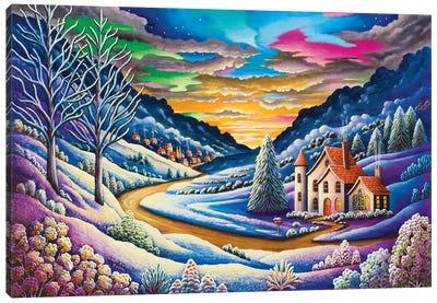 Snow Canvas Art Print