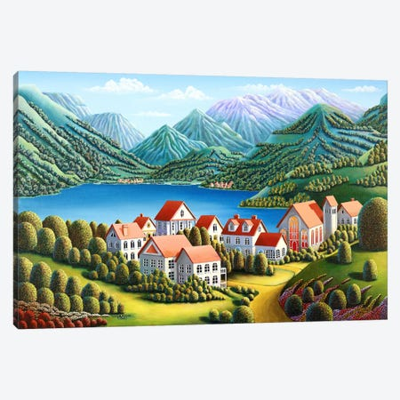 Spirit Mountains Canvas Print #ARU47} by Andy Russell Canvas Art Print