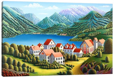 Spirit Mountains Canvas Art Print