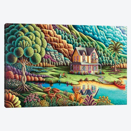 Summertime Canvas Print #ARU49} by Andy Russell Canvas Art
