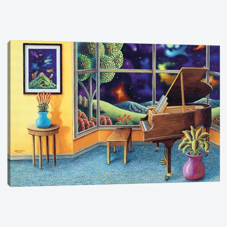 Baby Grand Canvas Print #ARU4} by Andy Russell Canvas Print