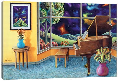 Baby Grand Canvas Art Print