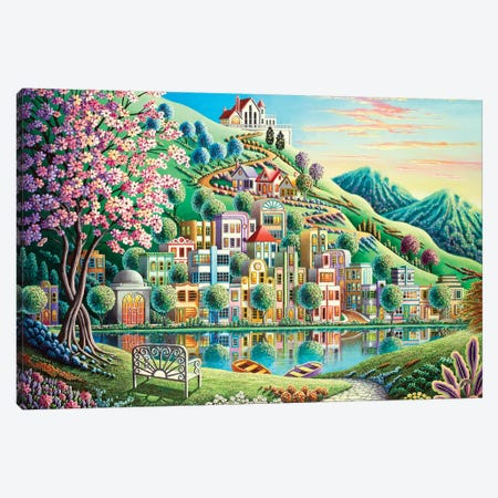 Blossom Park Canvas Print #ARU5} by Andy Russell Canvas Art Print