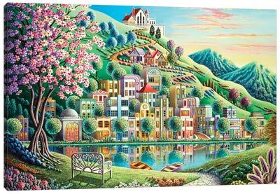 Blossom Park Canvas Art Print
