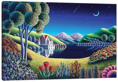 Blue Moon VI Canvas Art Print