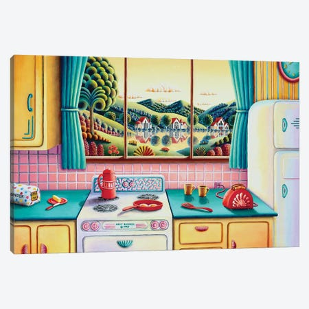 Breakfast of Champions Canvas Print #ARU8} by Andy Russell Canvas Art