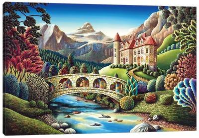 Castle Creek Canvas Art Print