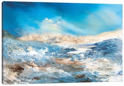 Blue Wave Canvas Art Print