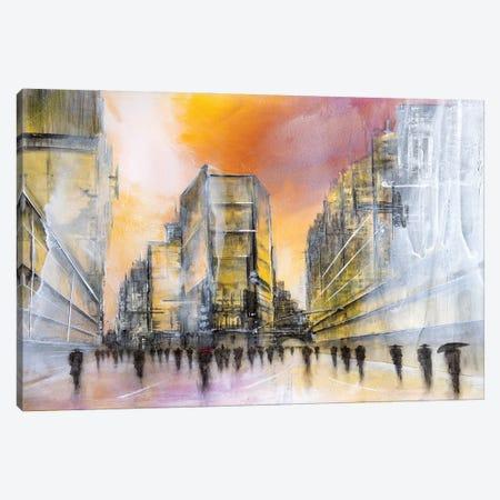 Down Town Canvas Print #ARY18} by Anke Ryba Canvas Art Print