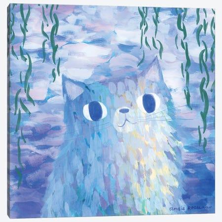Clawed Monet Canvas Print #ARZ2} by Angie Rozelaar Art Print
