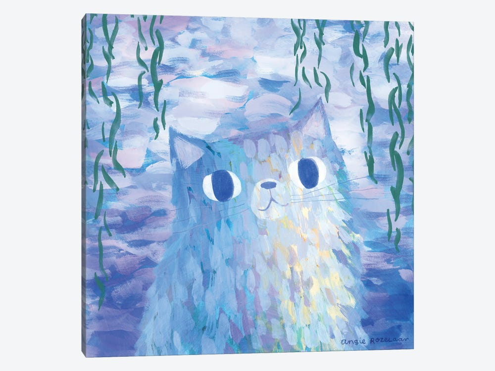Clawed Monet by Angie Rozelaar 1-piece Art Print