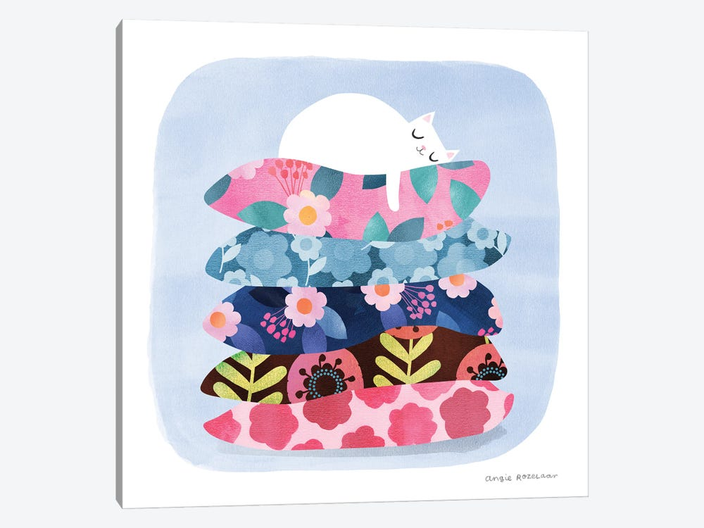 Nap Time by Angie Rozelaar 1-piece Art Print