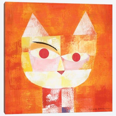Paw Klee Canvas Print #ARZ3} by Angie Rozelaar Art Print