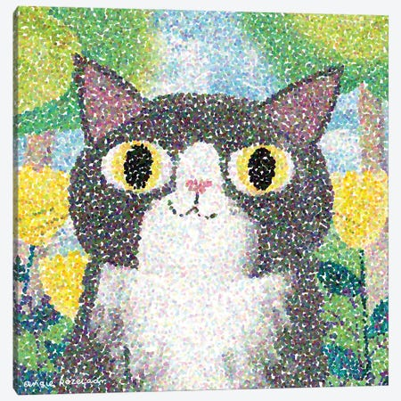 Georges Seurcat Canvas Print #ARZ50} by Angie Rozelaar Canvas Artwork