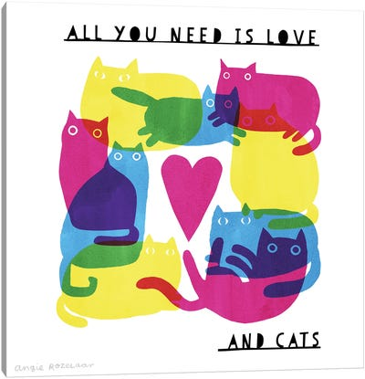 All You Need Canvas Art Print