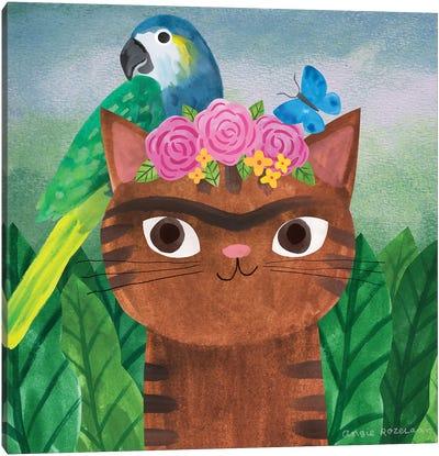 Frida Catlo Canvas Art Print
