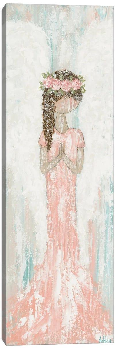 Praying Angel Canvas Art Print