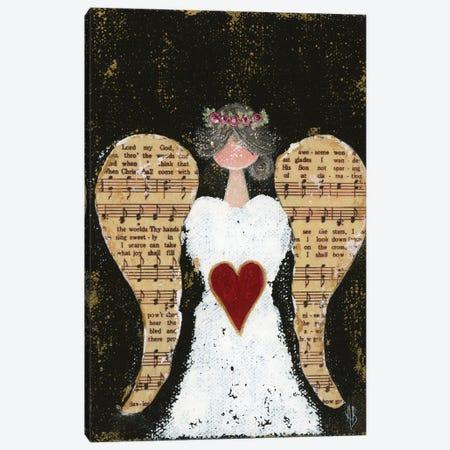 How Great Thou Art Angel Canvas Print #ASB118} by Ashley Bradley Art Print