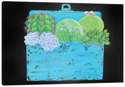Cactus & Succulent Trunk Canvas Art Print