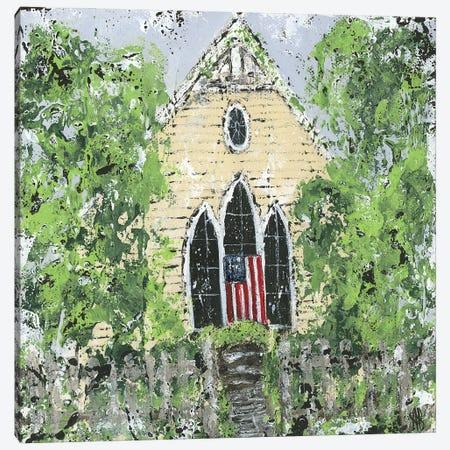 God Bless America Canvas Print #ASB126} by Ashley Bradley Art Print